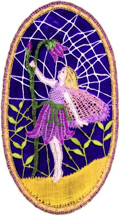 Harebell Fairy 1999, mixed lace types