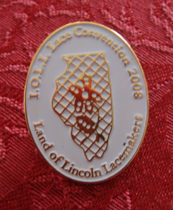 Illinois Logo Lace Designed for a pin given away at the 2008 I.O.L.I. Convention Bedfordshire